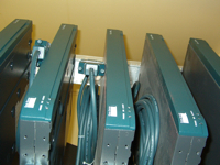 A Row of Routers