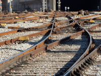Train Track Switching Yard