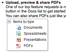 Google Adds PDF Support